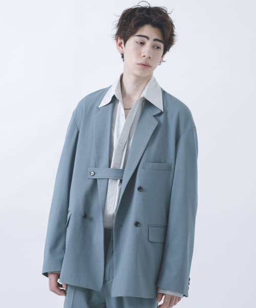 [URBAN RESEARCH][URBAN RESEARCH iD OVERSIZE DOUBLE JACKET]