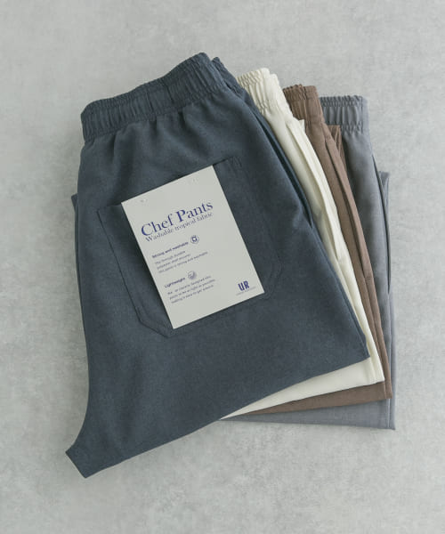 [URBAN RESEARCH][WASHABLE TROPICAL CHEF  PANTS]