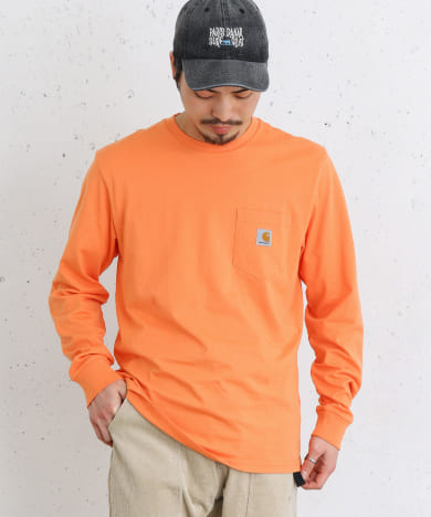 carhartt LONG-SLEEVE POCKET T-SHIRTS