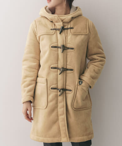 ORCIVAL FAKE MOUTON ダッフルコート