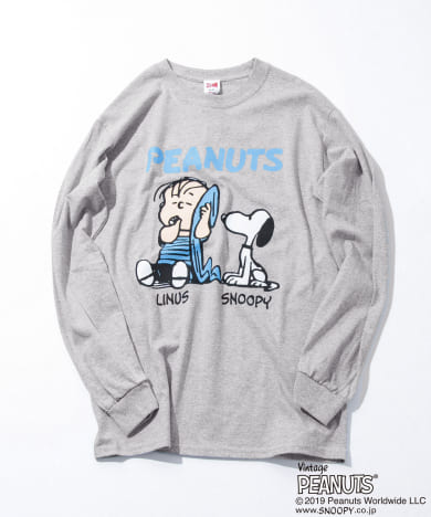 VOTE MAKE NEW CLOTHES LINUS & SNOOPY LS T-SHIRTS