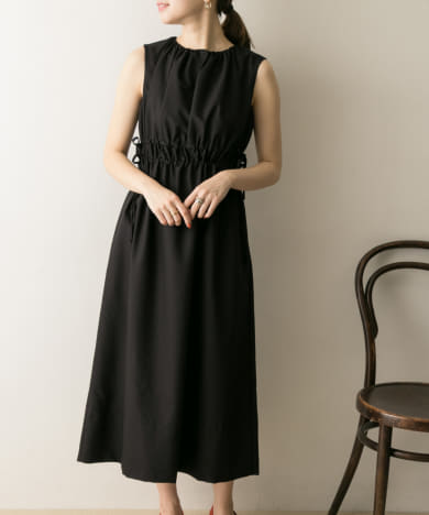 COUTURE MAISON ドロストギャザーワンピース
