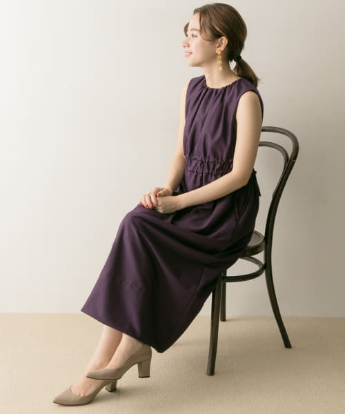 [URBAN RESEARCH][COUTURE MAISON ドロストギャザーワンピース]