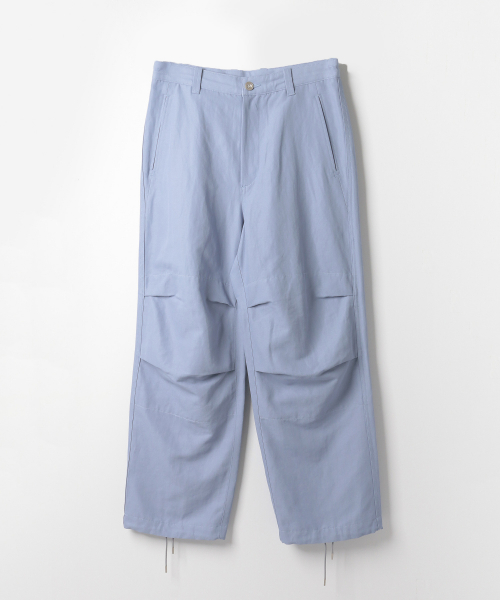 [URBAN RESEARCH][ULTERIOR DRY OX MILITARY WIDE PANTS]