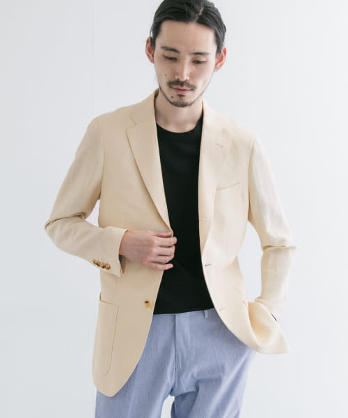 [URBAN RESEARCH][URBAN RESEARCH Tailor COLOMBOウールリネンジャケット]