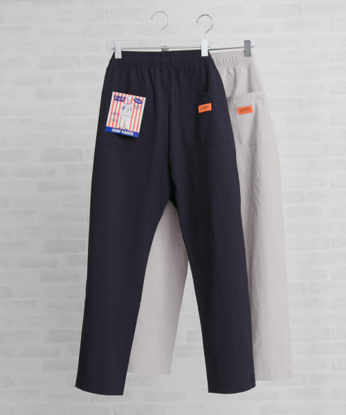 [URBAN RESEARCH][UNIVERSAL OVERALL×UR 別注4WAY STRETCH CHEF PANTS]