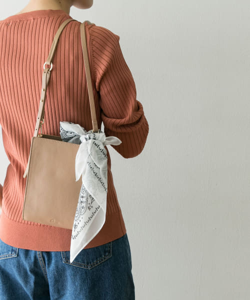 [URBAN RESEARCH][SMIR NASLI Gem.×UR 別注LeatherRectangleBag]