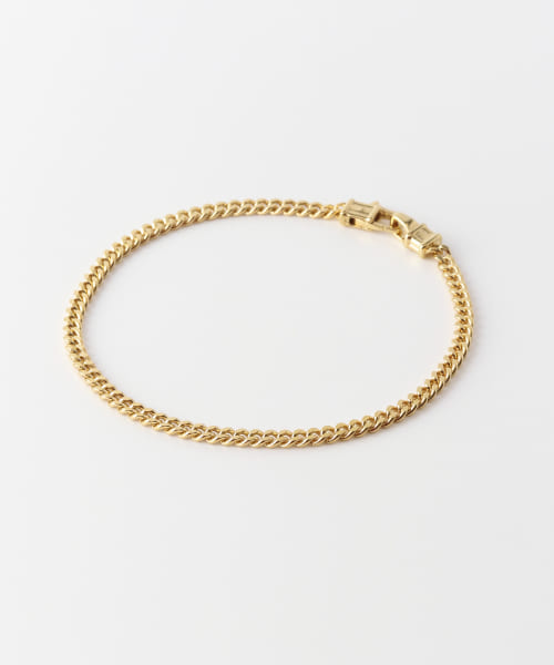[URBAN RESEARCH][TOM WOOD CURB BRACELET M GOLD]