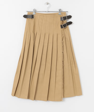O'NEIL OF DUBLIN PLEATS WRAP SKIRT