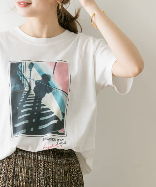 [URBAN RESEARCH][GODLIS PHOTO Tシャツ]