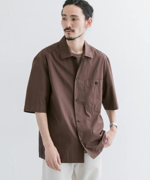 [URBAN RESEARCH][MHL.×URBAN RESEARCH SHORT-SLEEVE SHIRTS]