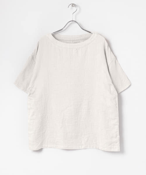 [URBAN RESEARCH][URBAN RESEARCH×UCHINO マシュマロガーゼMENS S/S TOPS]