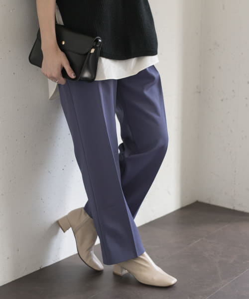 [ROSSO][Lirica high-west pants]