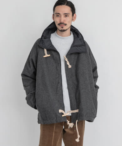 is-ness REVERSIBLE MILITARY JACKET