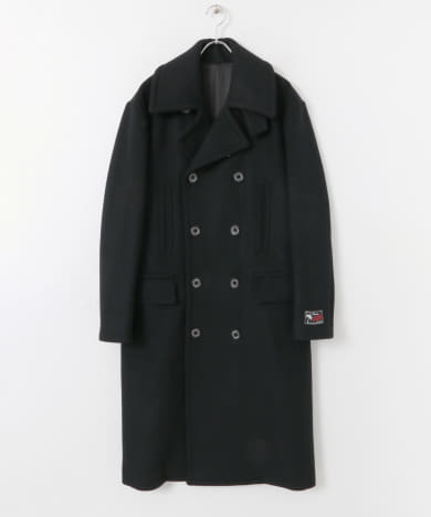 DAIRIKU Melton Long P-Coat