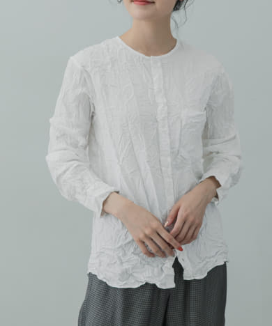 Vas-Y Lentement CREW-NECK LONG-SLEEVE SHIRTS