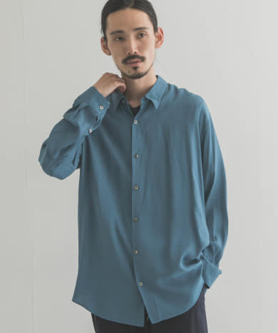 【別注】semoh×URBAN RESEARCH NATURAL DYED SHIRTS