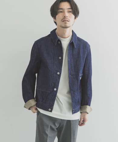 Scye Selvedge Denim Jacket