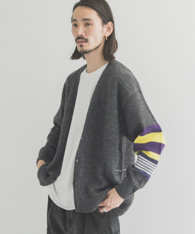 POP TRADING COMPANY CAPTAIN KNITTED CARDIGAN