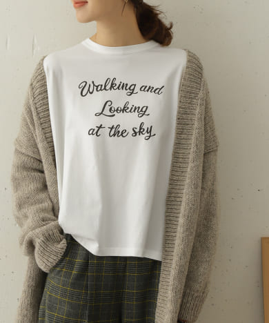 LOOKING AT THE SKY T-SHIRTS