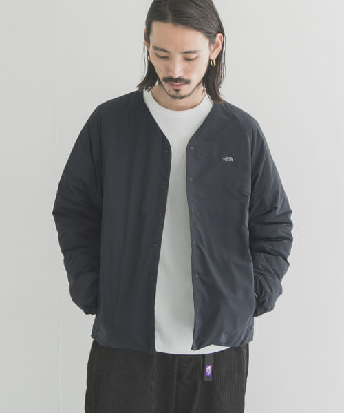 [URBAN RESEARCH][THE NORTH FACE PURPLE LABEL DOWN CARDIGAN]