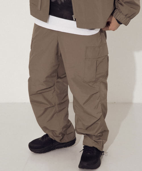 [URBAN RESEARCH][URBAN RESEARCH iD MILITARY TRACK PANTS]