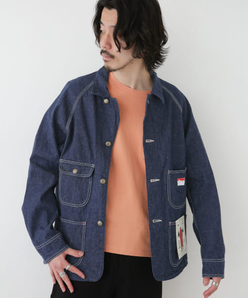 [Sonny Label][CAL O LINE DENIM COVERALL 3RD]