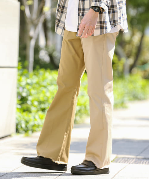[Sonny Label][RICE NINE TEN HALF&HALF BOOTSCUT CHINO]