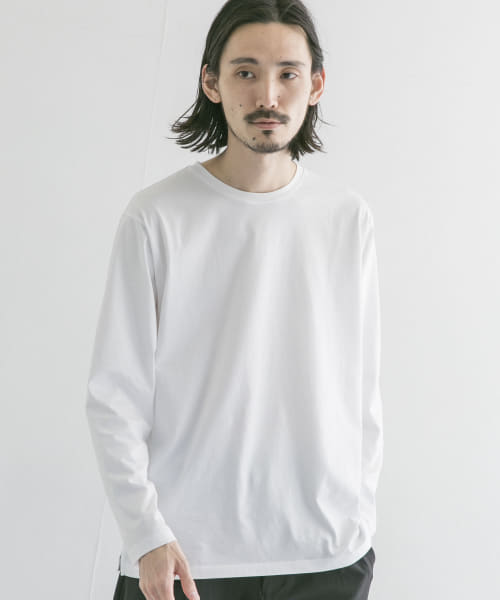 [URBAN RESEARCH][SUVIN COTTON LONG-SLEEVE T-SHIRTS]