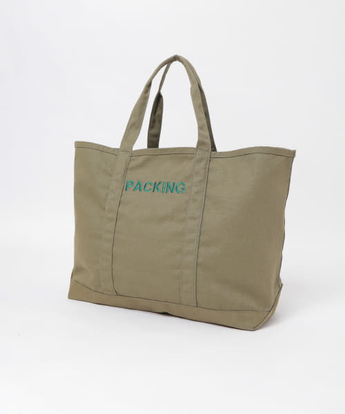 [URBS][PACKING CANVAS TOTE BAG]