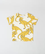mini rodini T-REX AOP SHORT-SLEEVE T-SHIRTS