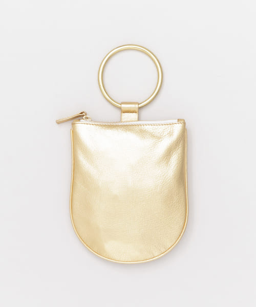 [ROSSO][MYERS COLLECTIVE RING POUCH MEDIUM]