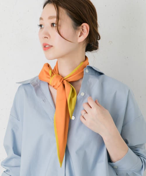 [ROSSO][【Oggi掲載】manipuri Diamond Scarf Small]
