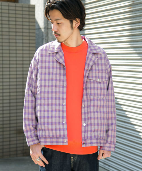 [Sonny Label][UNIVERSAL OVERALL 別注シャツブルゾン]