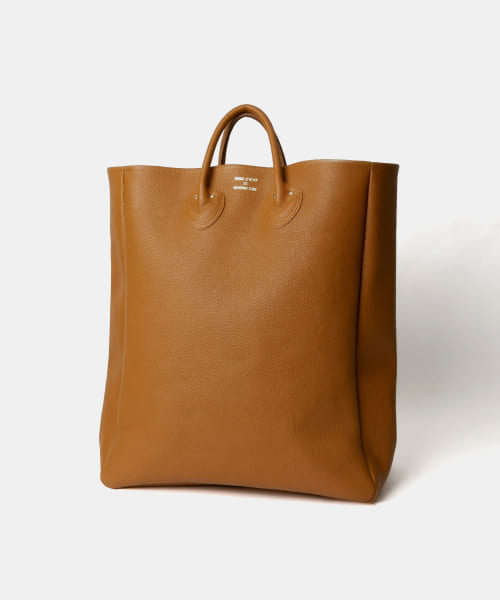 [URBS][【別注】YOUNG&OLSEN EMBOSSED LEATHER TOTE L]