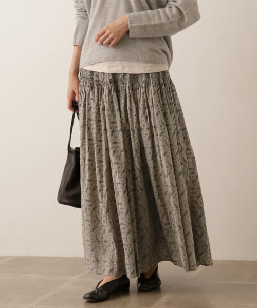 [かぐれ][maison de soil CULOTTES WHITH PINTUCK]