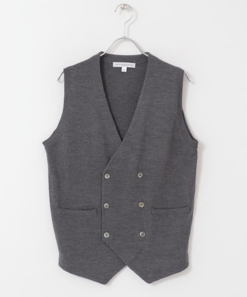 [DOORS][LIFE STYLE TAILOR Harmony Double Knit Vest]