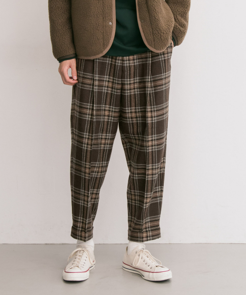 [URBAN RESEARCH][CEASTERS 別注1TUCK TROUSER]