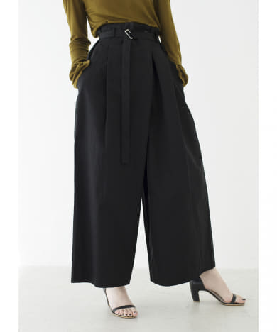 WRAP WIDE PANTS