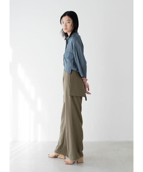 [LAATO][TACK POCKET PANTS]