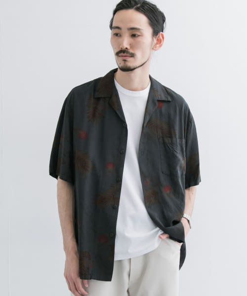 [URBAN RESEARCH][TWO PALMS×URBAN RESEARCH 別注garment dye aloha]