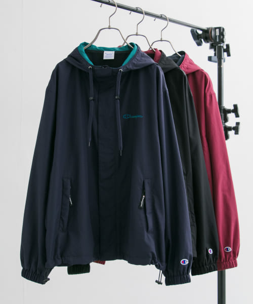 [URBAN RESEARCH][Champion×URBAN RESEARCH N/Tマウンテンパーカー]