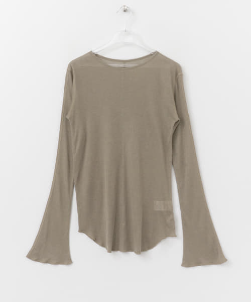 [LAATO][SEE-THROUGH LONG T-SHIRTS]