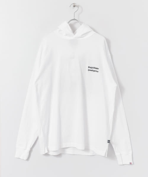 [Sonny Label][MAGIC NUMBER USCOTTON PHOTO LONG-SLEEVE HOODIE]
