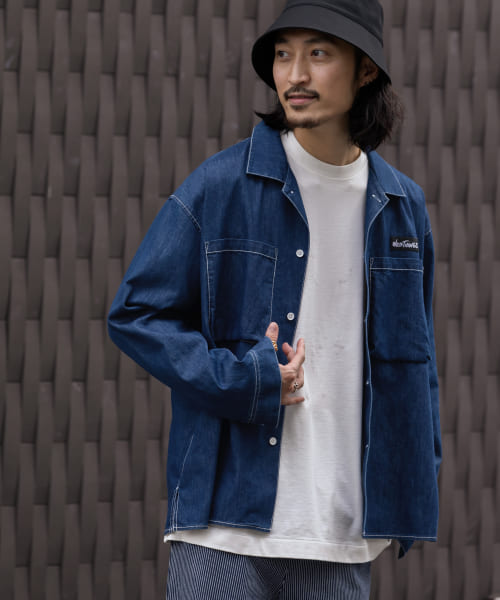[Sonny Label][WILDTHINGS 別注SHELTECH  BOX SHIRTS]