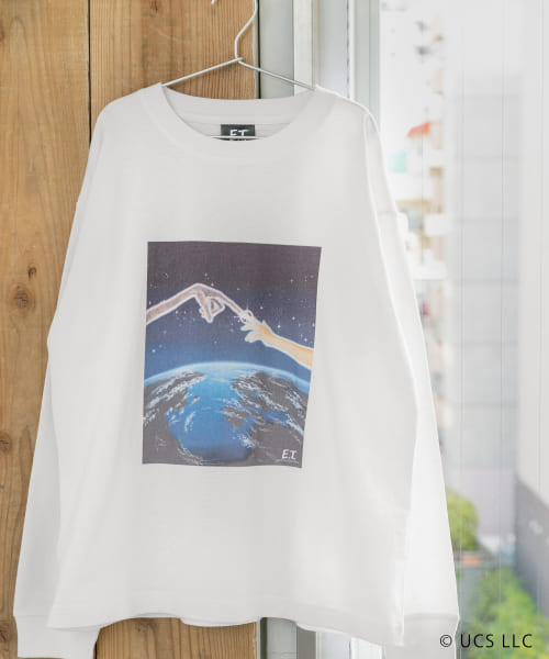 [Sonny Label][Oldmovie Print Long-T-SHIRTS]