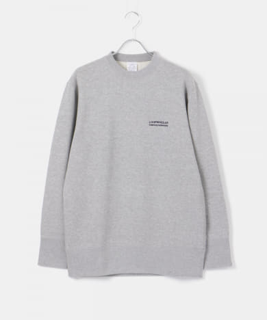 LOWERCASE×LOOPWHEELER LIGHTWEGHT LOGO SWEAT