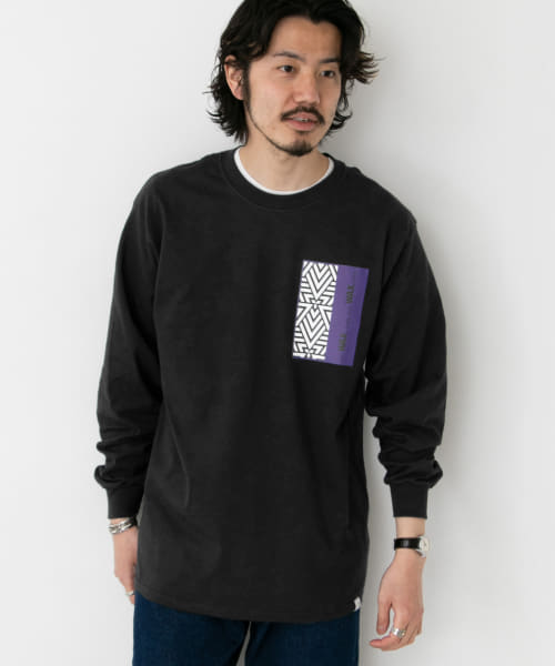 [Sonny Label][WAX Delta LONG-SLEEVE T-SHIRTS]