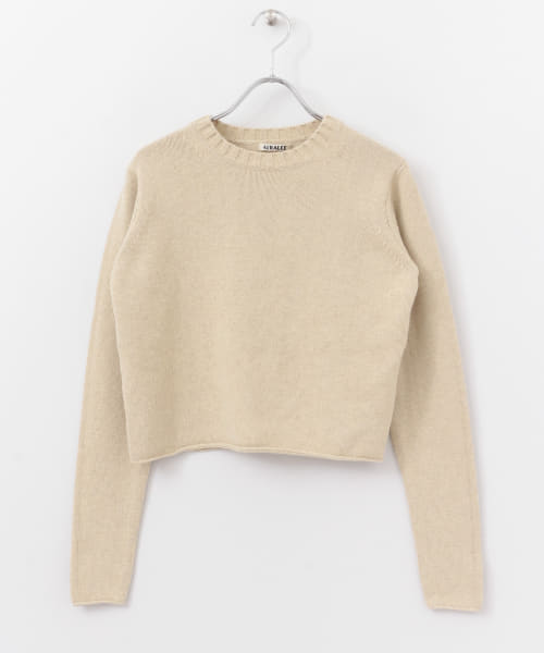 [DOORS][AURALEE COTTON WOOL CASHMERE PULLOVER]
