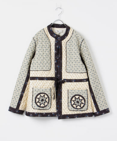 Sea New York DISTY MIX LONG-SLEEVE QUILTED JACKET